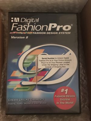 Digital Fashion Pro version 8