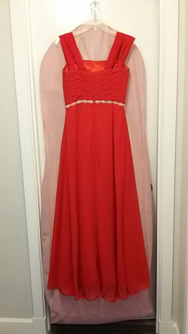 Formal Red Dress Clothing Shoes In Puyallup Wa Offerup