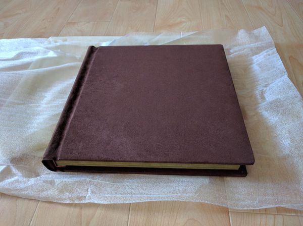 Brand New Lot Of 5 Micro Suede Leather Flush Mount Photo Albums Wedding 10x10 And 12x12