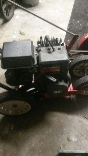 Edger yard machine