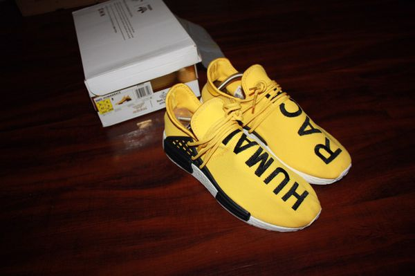 ef8604b735c651 Adidas NMD Human Race Yellow Men s size 8.5 UA (Clothing   Shoes) in Santa  Ana