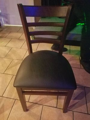 Restaurant chairs available almost brand new