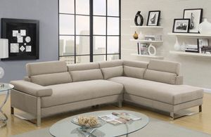 SECTIONAL SOFA BEIGE