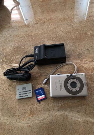 Cannon digital camera SD 400