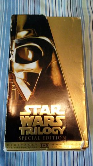 Star Wars Trilogy Special Edition VHS's