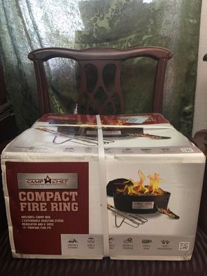 Compact fire ring