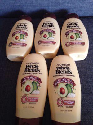 5 Bottles of Garnier Whole blend