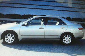 4Door 2004 Honda Accord EX-L V6