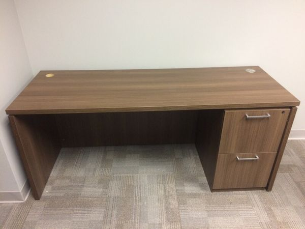 fice desk with file cabinet Furniture in Chicago IL