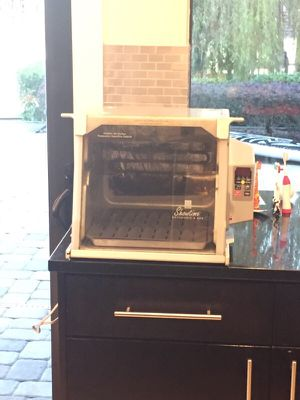 Rotisserie Oven and BBQ (all supplies included)