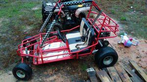 6 half hp gokart. Trade or take $500 needs a wire put on the govoner