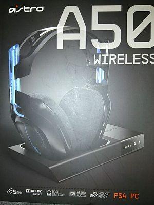 Ps4 wireless headphones astroA50