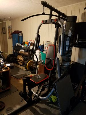 Weider pro 4300 free weight machine.