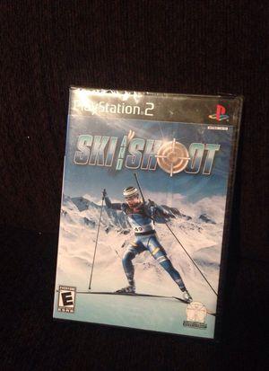 New - PS2 Ski and Shoot
