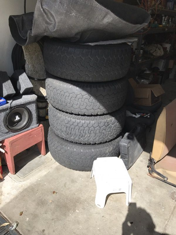 Wheels for sale from my hummer h2, rims rines tires no good, wheels ...