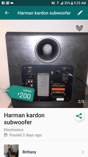 Harman kardon sub