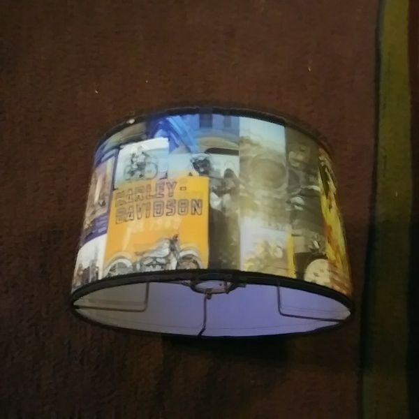 Harley davidson lamp shade household in canton oh mozeypictures Image collections