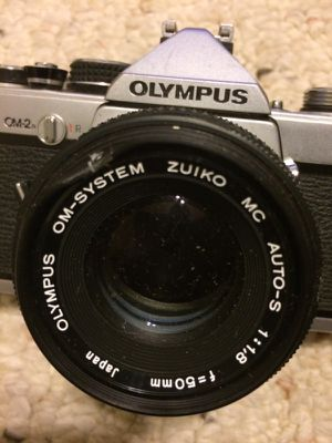 Olympus OM-2 35mm Zuiko 50mm