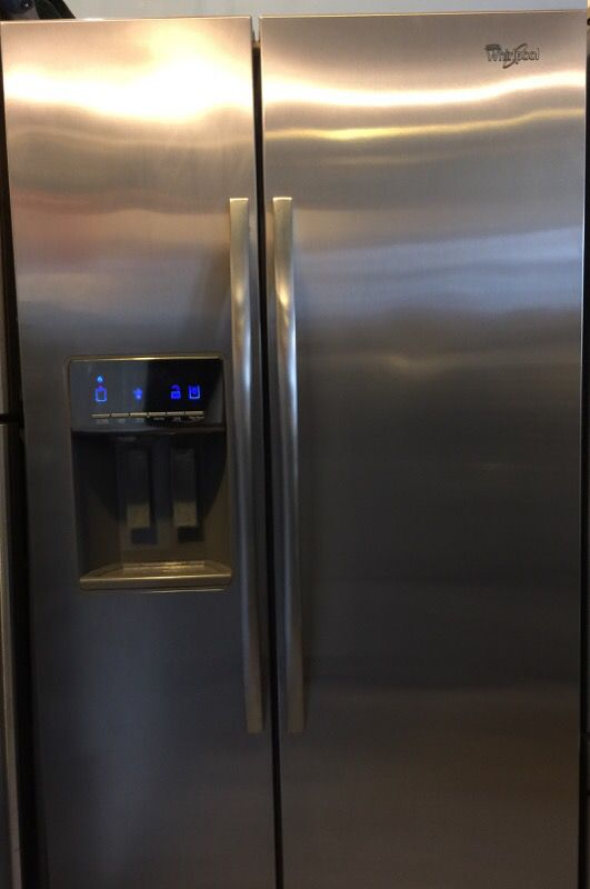 Beautiful Whirlpool Stainless Steel Refrigerator
