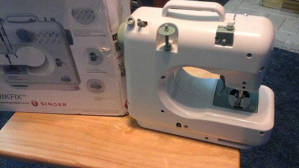 singer quik fix mending machine