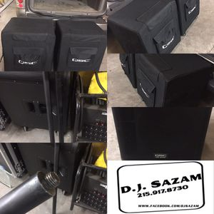For Sale 2 proctective covers for QSC KW181 sub speakers $150