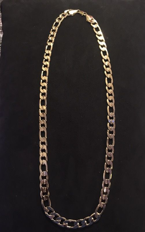 14k Gold Dip Figueroa Link Chain Negotiable Jewelry Accessories