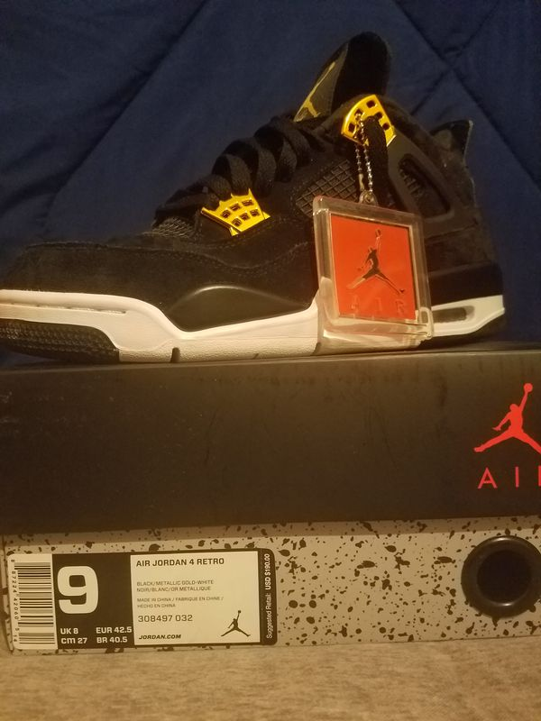 Jordan Royalty 4s Size 9