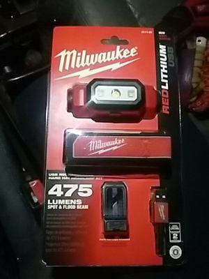 Milwaukee head lamp 475 lumens