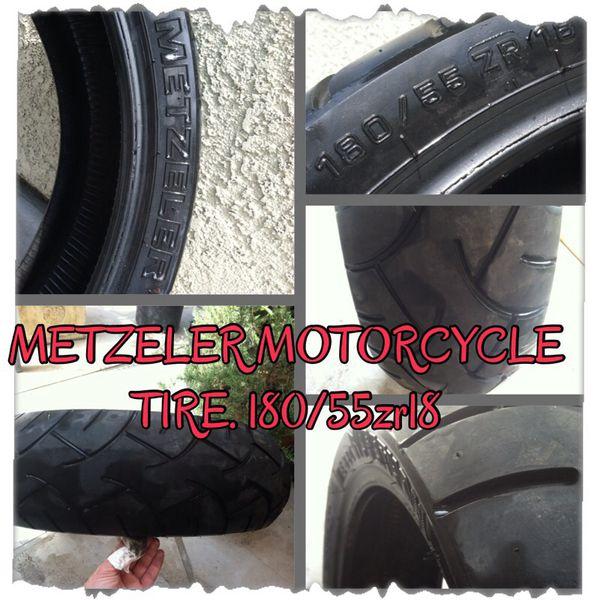 Motorcycle Rear Tire >> Metzeler Motorcycle Rear Tire 180 55 Zr18 Motorcycles In Turlock