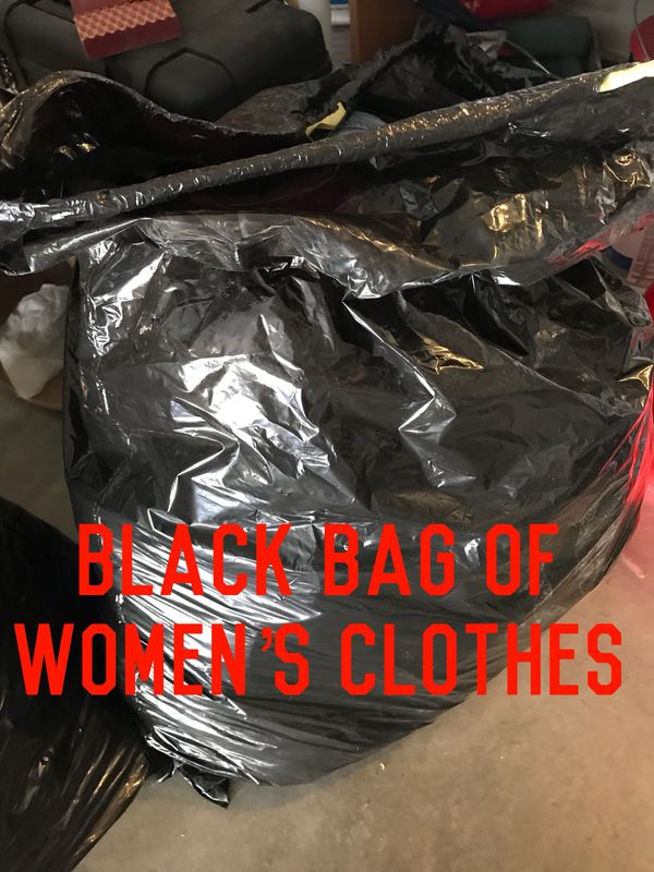 a8de117241 Black Bag of Women s clothes size Large 7-8 (Clothing   Shoes) in Palmdale