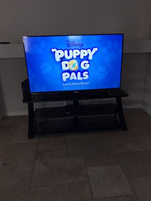 """65"""" Phillips Smart LED Flat Screen TV & Stand"""