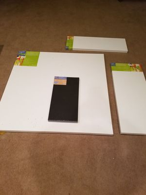 Gallery wrapped Blank Art canvasses