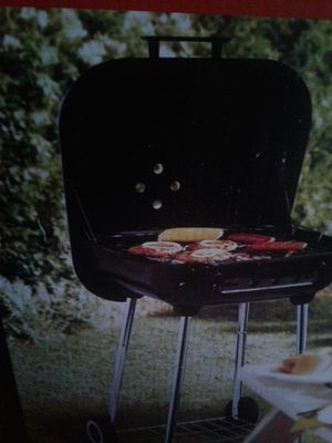 Brand new grill and charcoal