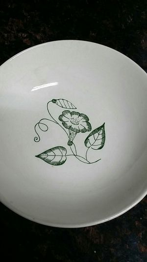 Stetson 1956 China Co Lincoln Ill Bowl