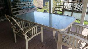 Patio/picnic table