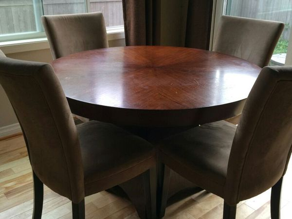 pier one four chair dining room table furniture in sammamish wa