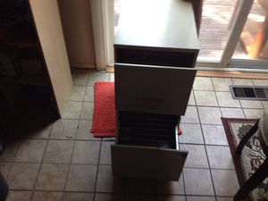 Two shelf file cabinet