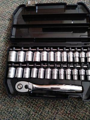Dewalt 25 piece standard and metric socket 1/2 inch set