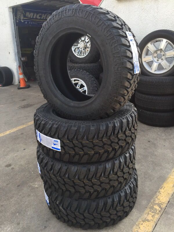 20 Inch Tires Lt35 12 50r20 10ply Sunny M T Auto Parts
