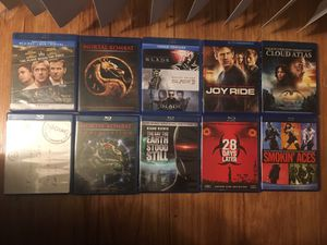 Blu Rays $5