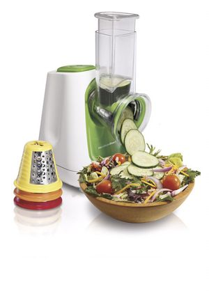 Hamilton Beach Salad Xpress Multicone Compact Food Processor