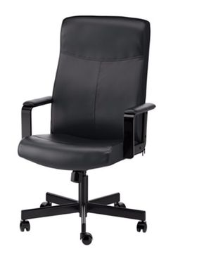 Black office rolling chair