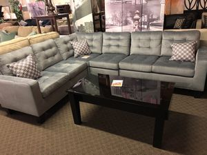Sectional We Offer No Credit Check Financing
