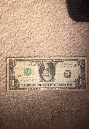 1963 Series B $1 bill