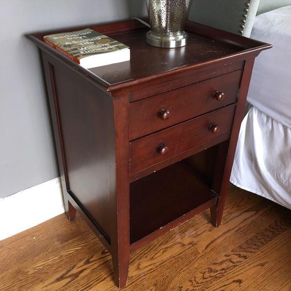 Pair Of Eddie Bauer Home Store Nightstands Furniture In Seattle Wa Offerup