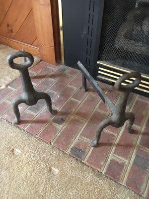 Fireplace irons