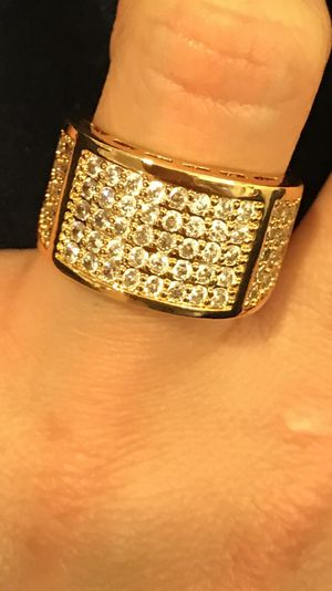 Unisex 18K Gold plated Ring