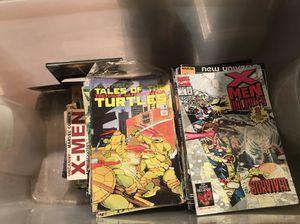 Tub full of comics 200+ make offer.