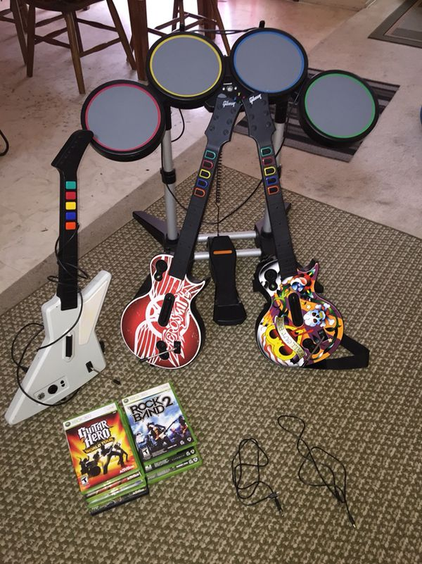 Guitar Hero / Rock Band bundle