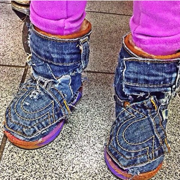 Custom made jean uggs for kids clothing shoes in for Custom tailored shirts chicago